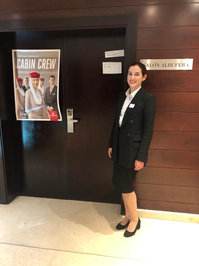 Soy Laura, ex alumna de Global Crew, y te cuento mi experiencia en la entrevista de Emirates.
