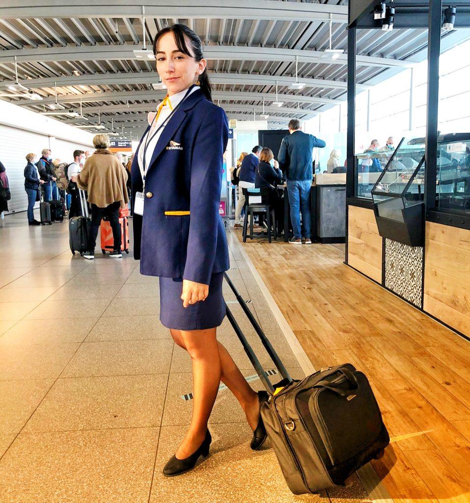 Soy Nadia, ex alumna Global Crew y TCP en Ryanair, y te cuento mi experiencia.
